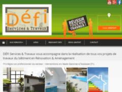Création du site Internet de DEFI Services & Travaux (Entreprise de Entreprise générale à GRATENTOUR )
