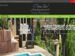 Création du site Internet de Deu'bel Aménagements (Entreprise de Paysagiste à DRACHENBRONN BIRLENBACH )