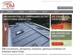Création du site Internet de DM Couverture (Entreprise de Couvreur à CHANTILLY )