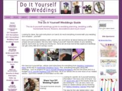 Do it yourself Weddings