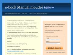 náhled stránek e-book Manuál moudré ženy