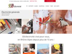 Création du site Internet de EB électricité (Entreprise de Entreprise générale à LA VERPILLIERE )
