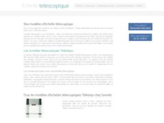 Les différentes caractéristiques d'une échelle télescopique
