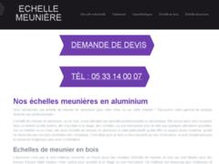 Une gamme variée d'échelles meunières proposée sur un site spécialisé