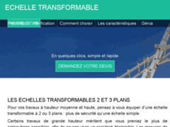 Échelle transformable : plusieurs dimensions et options au choix