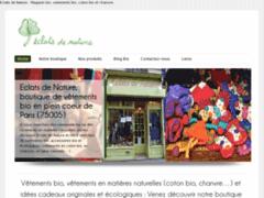 d053d4b365d5 Eclats de Nature - Boutique bio Paris 5