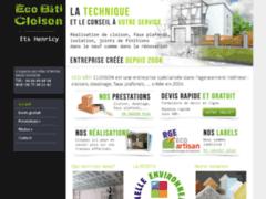 Création du site Internet de Eco Bâti Cloison (Entreprise de Platrier à AVIGNON )