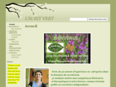 L'ecrit vert, votre écolo-secrétaire