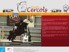 Equitation et poney club dans la Drome - Ecurie des Cercols