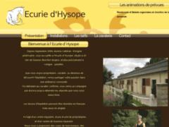 Ecurie d'Hysope