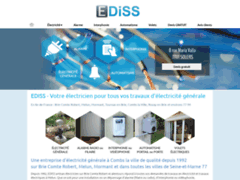 Création du site Internet de GILLES BRISSET (Entreprise de Electricien à SOLERS )