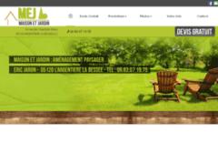 Création du site Internet de M.E.J (Maison et Jardin) (Entreprise de Jardinier à ARGENTIERE LA BESSEE (L') )