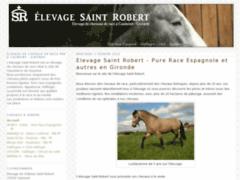 Elevage de chevaux Saint Robert