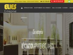 Création du site Internet de ELIES ENTREPRISE (Entreprise de Peintre à SAINT DENIS )