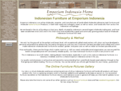 Emporium Indonesia Woodworking
