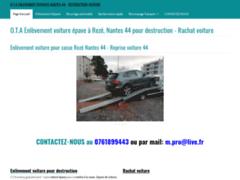 Site Détails : enlèvement voiture épave nantes 44 et remorquage