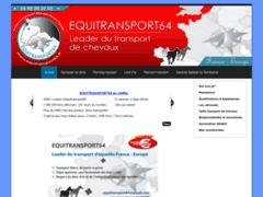 EQUITRANSPORT64: transport de chevaux  France-Europe