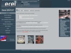 Création du site Internet de EREI (Entreprise de Electricien à SERPAIZE )