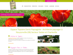 Création du site Internet de Espace Topiaires Denis (Entreprise de Paysagiste à NOUZONVILLE )