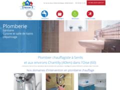 Création du site Internet de Etienne B (Entreprise de Chauffagiste à SENLIS )