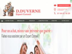 Création du site Internet de DUVERNE DIDIER (Entreprise de Expert à MASSY )