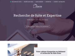 Création du site Internet de Expertis' (Entreprise de Expert à OLORON-SAINTE-MARIE )