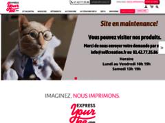Express Your Tee - Des centaines de motifs, créez vos T-shirts personnalisés, 4 boutiques en France
