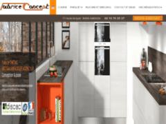 Création du site Internet de TARTAS F (Entreprise de Cuisiniste à AVIGNON )