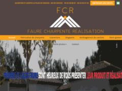 Création du site Internet de F.C.R (Faure Charpente Réalisation) (Entreprise de Entreprise générale à GRASSE )