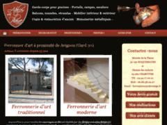 Création du site Internet de Atelier de la plaine (Entreprise de Artisan d'art à ROQUEMAURE )