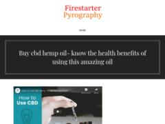 Firestarter Pyrography