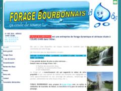 Création du site Internet de FORAGE BOURBONNAIS (Entreprise de Terrassier à YZEURE )