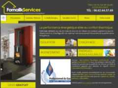 Création du site Internet de Fornalik Services (Entreprise de Isolation à ROUVROY )