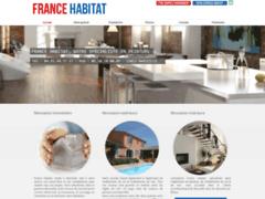 Création du site Internet de France Habitat (Entreprise de Peintre à MARSEILLE )