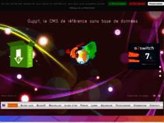 Détails : GuppY CMS Portail WEB php gratuit sans BDD