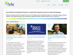 FSF Europe - The Free Software Foundation Europe
