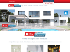 Création du site Internet de FSV MENUISERIE (Entreprise de Menuisier à CHAVANOZ )
