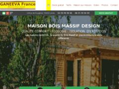 Création du site Internet de GANEEVA France (Entreprise de Constructeur de maison à LAVAL )