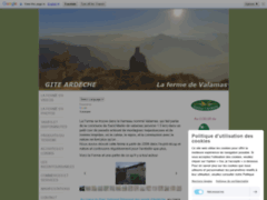Gite ardèche verte ferme typique nature