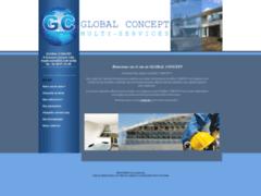 Création du site Internet de GLOBAL CONCEPT MULTI- SERVICES (Entreprise de Menuisier à ASNIERES SUR SEINE )