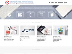 GRAPHISTE PARIS création logo, dépliant, affiche, sites web
