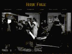 Création du site Internet de HERBE FOLLE - Compagnie générale des herbes folles (Entreprise de Artiste musicien à GAP )
