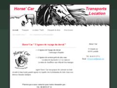Horse' Car  Transporteur de chevaux