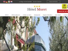 Création du site Internet de Hôtel Muret (Entreprise de Hôtel à SIGOYER )