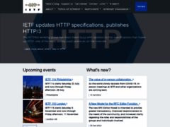 IETF  | Internet Engineering Task Force