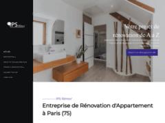 Création du site Internet de IPSRENOV (Entreprise de Entreprise générale à PARIS )