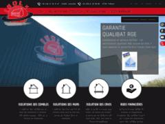 Création du site Internet de Isol + (Entreprise de Isolation à LAMBALLE )