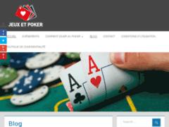 Consulter la fiche de jeu poker