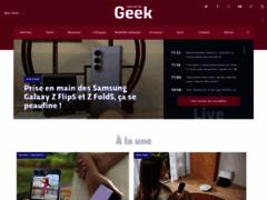 Journal du Geek : toute l'actualité high-tech et POP Culture