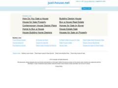 Consulter la fiche de Just-House